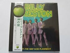 BILLY PRESTON THAT'S THE WAY GOD PLANNED IT Japan CD vinyl replica BEATLES APPLE