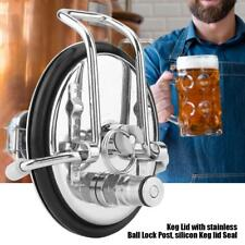 Carbonation Lid with Hose & Carbonation Stone for Corny/Cornelius Ball Lock Kegs