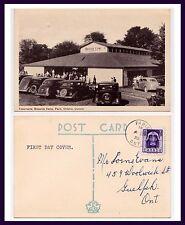 CANADA ONTARIO PARIS BRAESIDE PARK TABERNACLE 4 APR 1955 TO LORNE EVANS, GUELPH