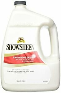 Absorbine Showsheen Showring Shine Detangler 1 Gallon