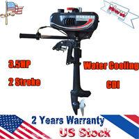 3.5HP Outboard Motor Engine 2 Stroke Fishing Boat Motor Water Cooling CDI 2.5KW