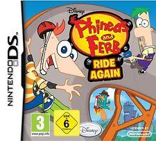 Nintendo DS NDS Phineas und & Ferb Volle Fahrt Neu&OVP