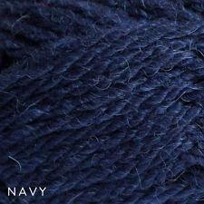 5 x 50g Balls - Patons Inca 14ply 70% Wool-Alpaca - Navy Blue #7047 - $34.95