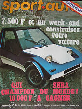 Sport Auto N°133 (fév 1973) Historique Matra : 2eme partie - La Shadow DN 1 -