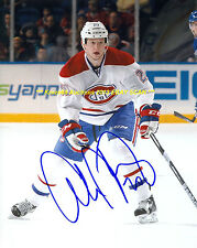 COLBY ARMSTRONG In ACTION Auto 8x10 Photo MONTREAL CANADIENS Star WOW