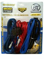 NEW AMP KIT 800 WATT 10 GAUGE POWER WIRE WIRING KIT INSTALL CAR SYSTEM AMPLIFIER