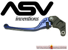 Triumph Street Triple 2007 08 09 10 11 12 13 14 15 ASV F3 Lever Set Blue Long