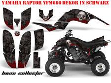 Amr racing Graphic Kit ATV yamaha raptor 125/250/350/660/700 Bone Collector B
