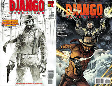 DJANGO UNCHAINED #1 variant 2nd print # 2 1st NM VERTIGO COMICS SOLD OUT JIM LEE