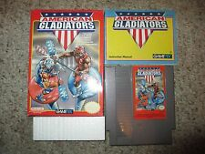 American Gladiators (Nintendo Entertainment System NES) Complete in Box GOOD