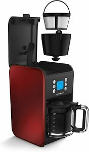 Morphy Richards Pour Over Filter Coffee Maker, 1.8L, 900W, Red-  FAST DELIVERY