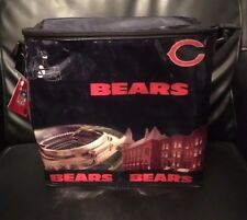NFL CHICAGO BEARS Football Team Expandable Insulated Cooler Bag **NEW**