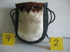 New listing Auction Lot 92 Large Fur Faced Grab Bag White fur/brown trim 05032021