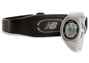NEW BALANCE N4 Pearl Ladies Running Heart Rate Monitor Watch +Chest Strap NEW