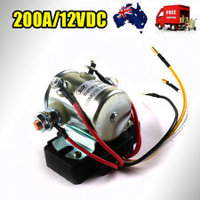 12V/14V 200AMP SOLENOID Dual Battery STARTER CONTINUOUS DUTY RELAY MARINE