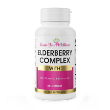 Elderberry and Zinc Complex w Vitamin C Immune Support Chewable for Kids Adults