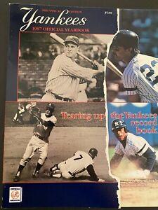 Vintage New York Yankees 1987 Team Yearbook