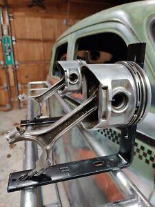 Man cave piston Heavy duty shelf brackets ratrod interior, remodel, live edge
