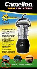 Camelion 36 LED solar lámpara de camping exterior incluye 4 mono d baterías