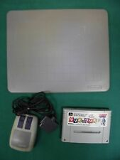 SNES -- MARIO & WARIO MOUSE SET -- Puzzle, Super famicom, Japan, work fully.