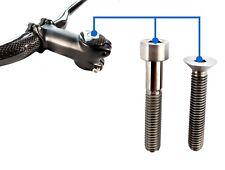 Lightweight Titanium Top Cap Bolt - M6x30/35mm Socket Cap or Countersunk Head