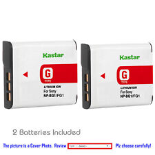Kastar Replacement Battery for Sony NP-BG1 NP-FG1 Sony Cyber-shot DSC-H10 Camera