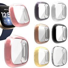 Screen Protector Case Cover for Fitbit Versa 3 Sense AllAround Case Bumper Cover
