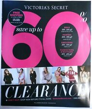 Victoria's Secret magazine Catalog Fall Clearance Sale  2014 Vol. 1    .40