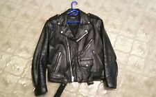 Cool Wilson's  Leather Biker /punk  Jacket size m