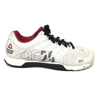 Reebok Crossfit Nano 4.0 CF74 Gym Lifting Shoes Mens Size 9 White Run Sneakers