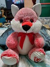 """Kellytoy 15"""" Red Fox Plush Stuffed Animal Toy Glitter Eyes"""