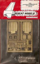 Reheat Models Photo-Etch Ju.87 Stuka Exterior for Hasegawa 1/48 Scale Model Kit