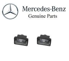 For Mercedes W204 GLK350 10-15 Set of 2 License Plate Lights Genuine 2048201056