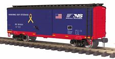 MTH 70-74095, G Scale / One Gauge, 40' Box Car - Norfolk Southern (Veterans)