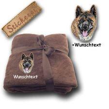 Couvertures marrons pour chien