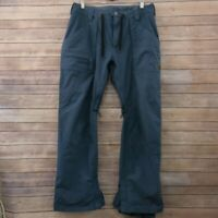 Mens Burton Dry Ride Snowboard ski Cargo Pants Size 34 Blue