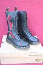 DR MARTENS 1914 VONDA 12761001 Softy T Bottes Black  Brodées 38 FR 5 UK
