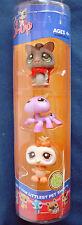 L3 Littlest Pet Shop tube Halloween sugar glider purple spider & cream owl
