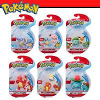 Pokemon Battle Figure Pack - Battle Ready - 2 , 3 Inch Figures - True To Scale
