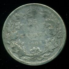 1903 Canada 25 Cent Piece, King Edward VII   P249