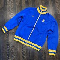 Nike SEATTLE MARINERS Track Jacket MLB coat Throwback Colors Blue Vtg Mens SMALL