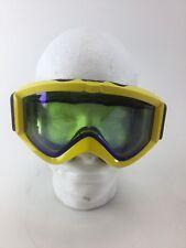 New listing anon Yellow Ski Snowboard Vtg Goggle Goggles Snowmobile Retro Burton Fast Ship
