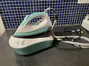 Easy Home Steam Generator Iron. 2300 Watt - Blue/White