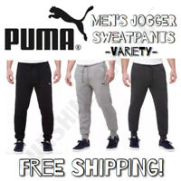 NEW! Puma Men's French Terry Jogger Drawstring Sweatpant Variety Colors / Sizes