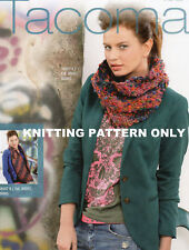 KNITTING PATTERN Schachenmayr Tacoma - INFINITY SCARVES - PATTERN ONLY
