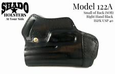 SHADO Leather Holster Standard Model 122A Right Hand Black fits H&K USP 40