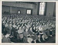 1946 Jefferson School Students Protest Death Sentence Lodi NJ Press Photo