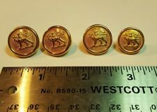 Vintage Canadian Army Canada Provost Corps Military Police Gilt Uniform Buttons