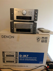Mini-chaine DENON D-M7