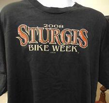 Sturgis 2008 Bike Week Black Hills Rally 2XL T-Shirt